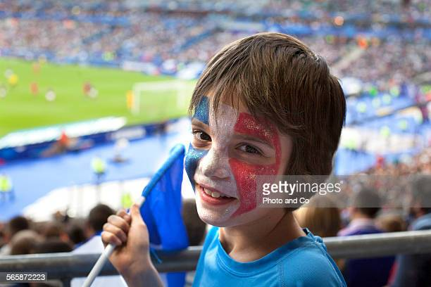 French football fan at Stadium