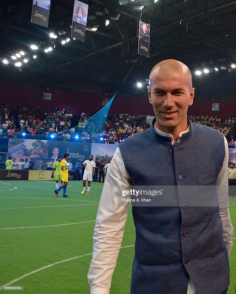Zinedine Zidane Visits Mumbai s and