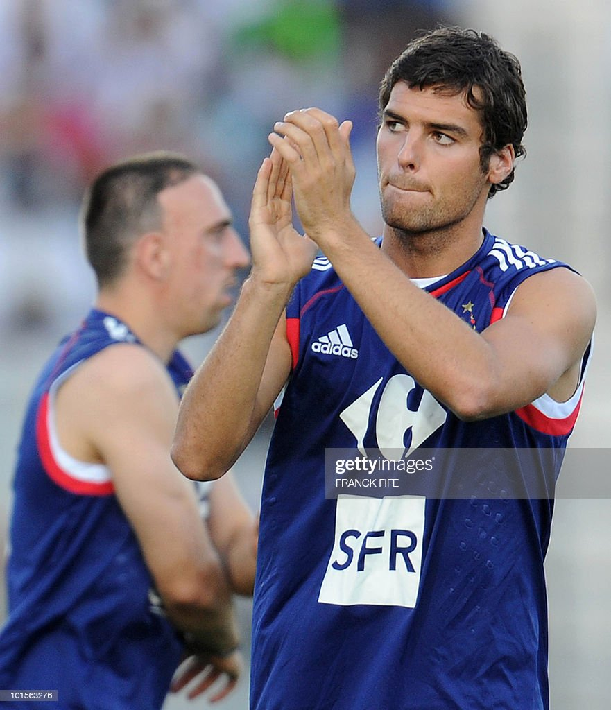 French football national team midfielder