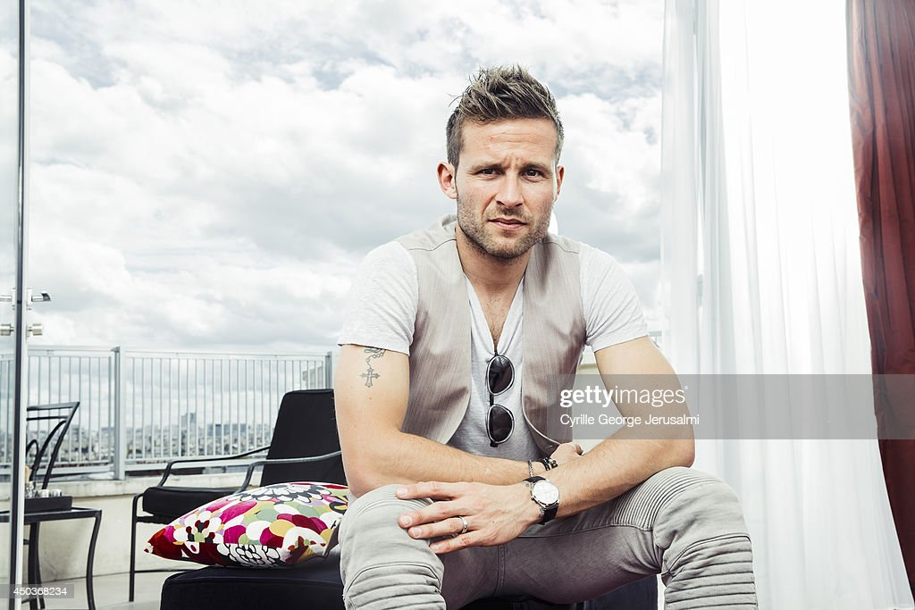 French footballer <a gi-track='captionPersonalityLinkClicked' href=/galleries/search?phrase=Yohan+Cabaye&family=editorial&specificpeople=648909 ng-click='$event.stopPropagation()'>Yohan Cabaye</a> is photographed for Gala on May 9, 2014 in Paris, France.