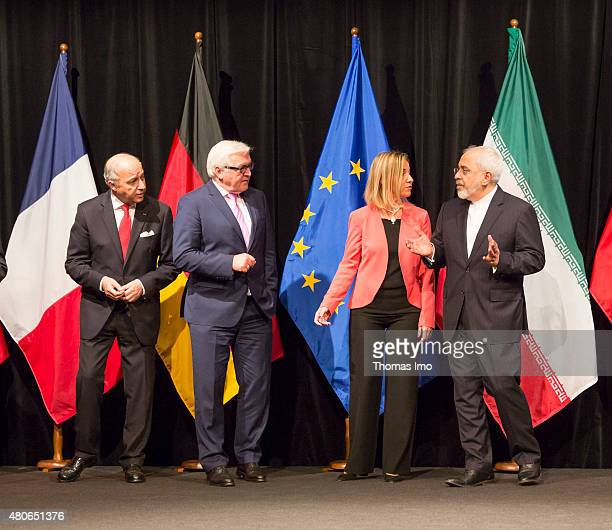 French Foreign Minister Laurent Fabius German Foreign Minister FrankWalter Steinmeier EU High Representative for Foreign Affairs and Security Policy...