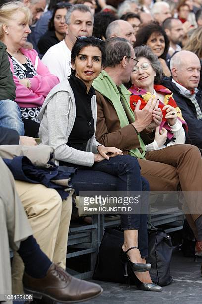 French former Justice Minister and European Deputy Rachida Dati in Versailles France on July 15th 2009