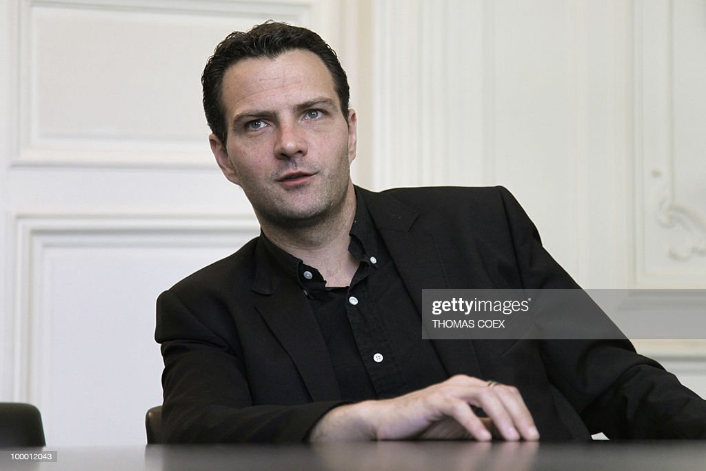 French former trader at Societe Generale bank, Jerome Kerviel poses on May 20, 2010 at his lawyer's office in Paris. Kerviel, who will appear in court in Paris from June 8 to 25, 2010, faces a maximum sentence of five years in prison and a fine of 375,000 euros if convicted on charges of breach of trust, falsifying and using fake documents and tampering with computer information.
