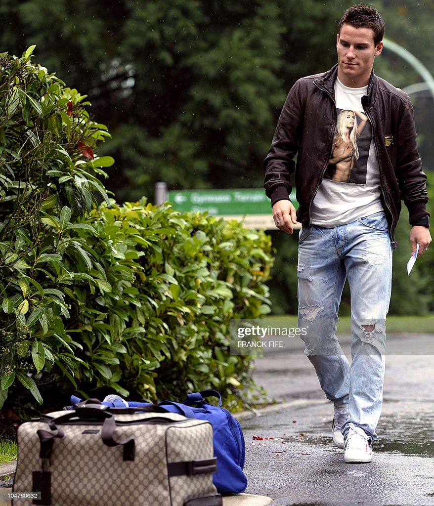 French forward Kevin Gameiro arrives at