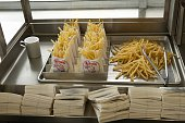 French Fries at the first McDonald's restaurant opened by founder Ray Kroc now a museum run by the restaurant chain in Des Plaines IL On Friday April...