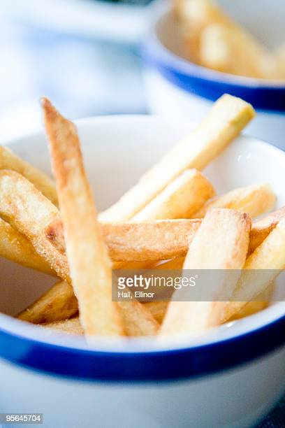 French fries in a bowl, Sweden.