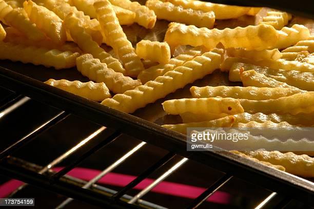 Frites dans le four