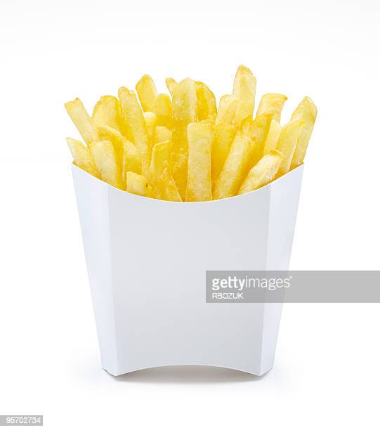 French Fries in Unlabeled Pack