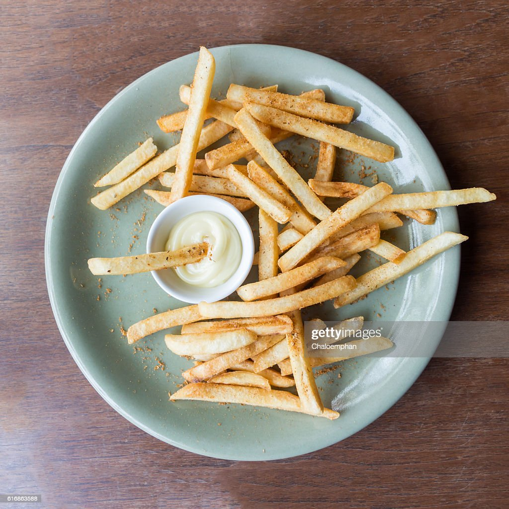 French fries. : Stock Photo