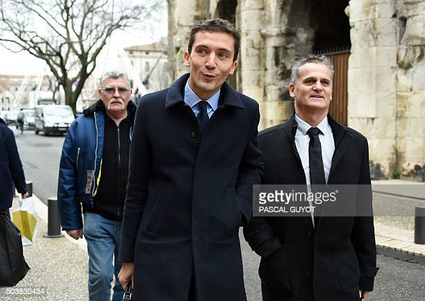 French Front National far right party mayor of Beaucaire Julien Sanchez charged with discrimination after a complaint of six Muslim shopkeepers...