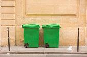 French Garbage Bins