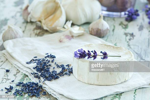 French goat cheese, garlic and lavender