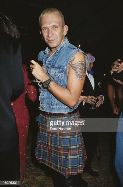 French haute couture and PretaPorter fashion designer Jean Paul Gaultier circa 1992