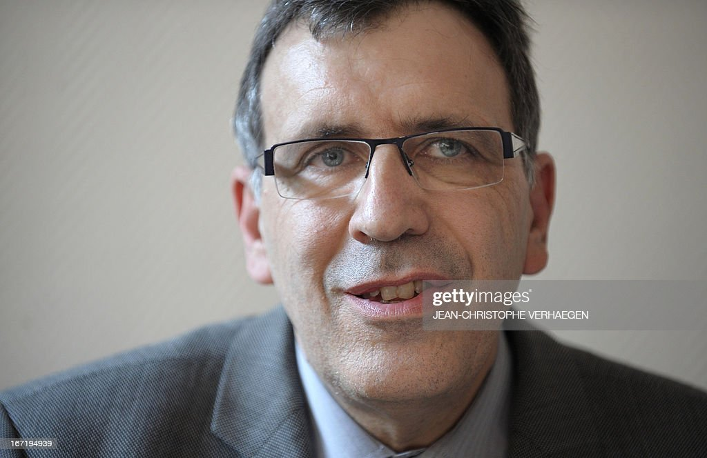 French Henri-Pierre Orsoni, CEO of Steel giant group ArcelorMittal Atlantique (western France) and Lorraine (eastern France) speaks during a press conference after attending a monitoring committee with unionists and local authorities, on April 22, 2013 in Metz. ArcelorMittal pledged last week to suspend closures and job cuts in Europe pending the launch of a pan-Europe plan in June to save the struggling steel industry. The steel group's recent decisions to shutter plants in Belgium, Luxembourg and France triggered violent protests. VERHAEGEN