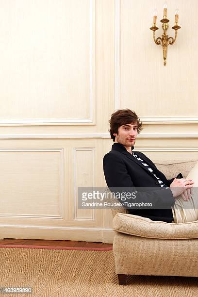 French hockey player FrancoisHenri Deserable is photographed for Le Figaro Magazine on December 1 2014 in Paris France CREDIT MUST READ Sandrine...