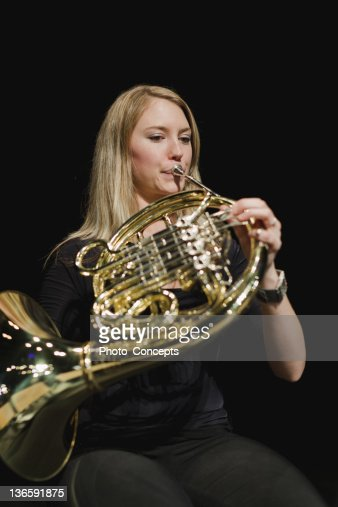 French Horn Stock Photos and Pictures | Getty Images