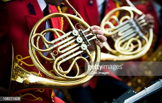 French Horns and red...