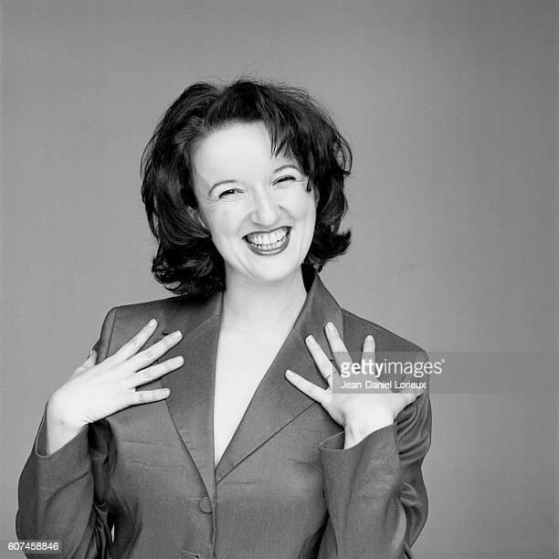 French humorist Anne Roumanoff