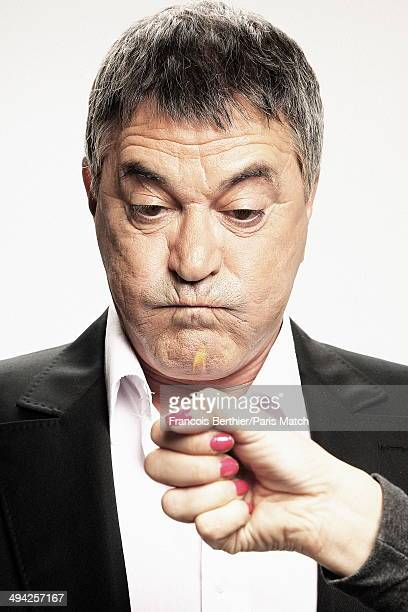 French humorist JeanMaris Bigard is photographed for Paris Match for his 60 years on May 9 2014 in ParisFrance