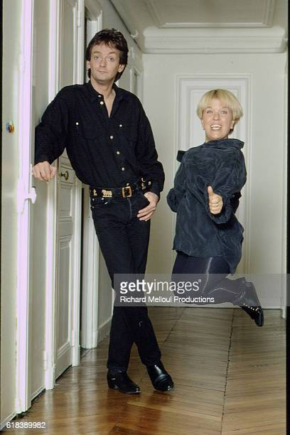 French Humorists Pierre Palmade and Mimie Mathy
