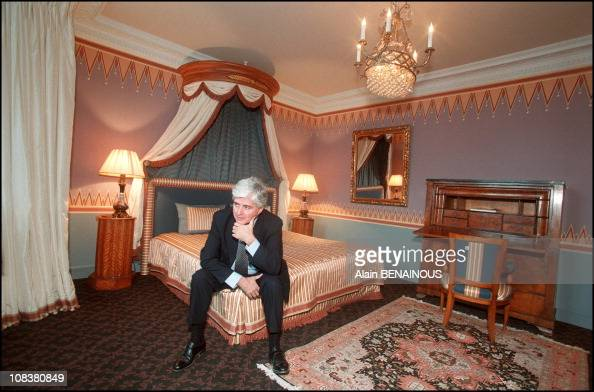 french interior designer jacques garcia in paris france on january 01 2002 pictures getty. Black Bedroom Furniture Sets. Home Design Ideas