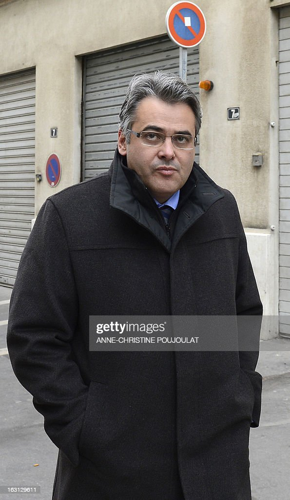 French Jean-David Ciot, former cabinet member of socialist President of the General Council of the French department Bouches-du-Rhone, arrives on March 5, 2013 at Marseille's courthouse, prior to a hearing as part of investigations in a case of his alleged unfair dismissal. Ciot was elected member of the Parliament in 2012 and is current First Secretary of the Socialist Party (PS) federation of the Bouches-du-Rhone.