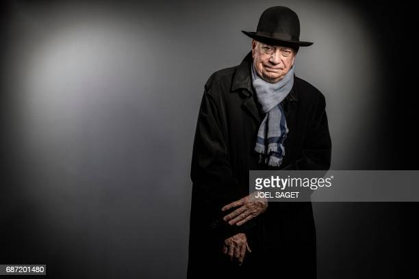 French journalist and former president of the Conseil Superieur de l'Audiovisuel Herve Bourges poses during a photo session in Paris on May 18 2017 /...