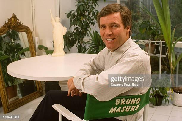 French Journalist and Newscaster Bruno Masure