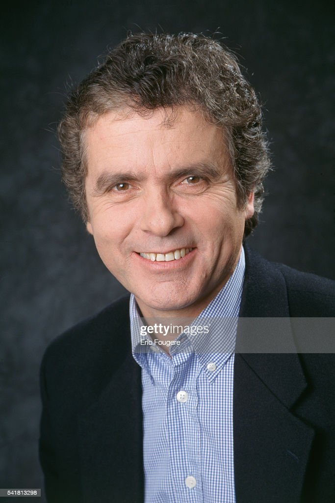 French Journalist and Presenter Claude Serillon