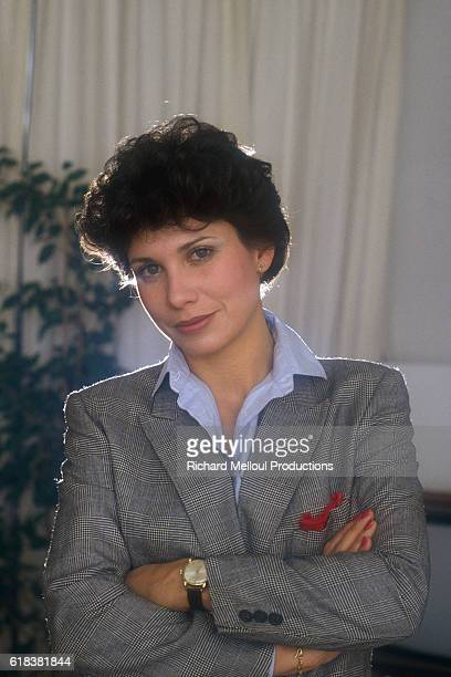 French journalist and TV host Anne Sinclair