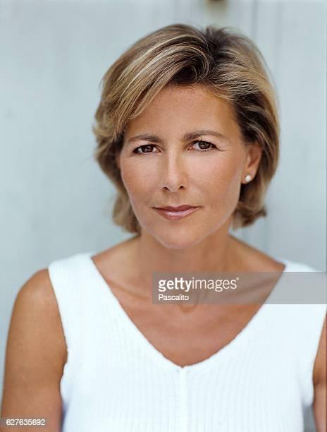 French journalist Claire Chazal