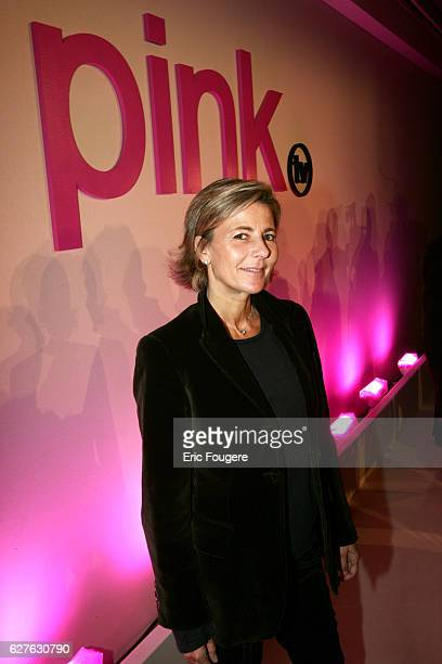 French journalist Claire Chazal will host the weekly program 'Le Je/Nous de Claire' on Pink TV