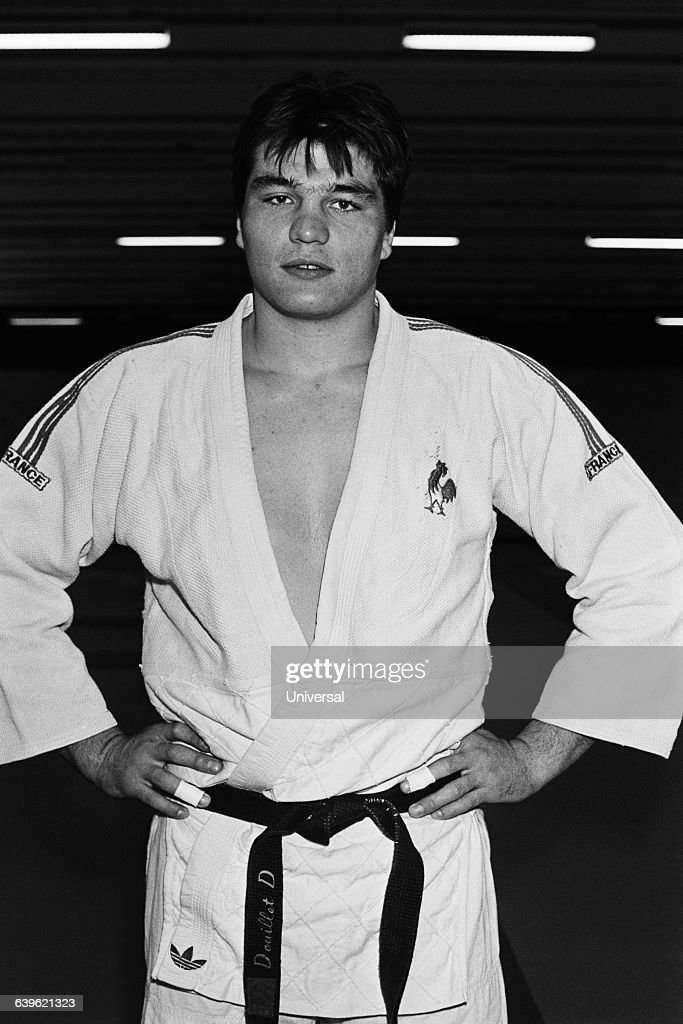 French junior judoka <a gi-track='captionPersonalityLinkClicked' href=/galleries/search?phrase=David+Douillet&family=editorial&specificpeople=220892 ng-click='$event.stopPropagation()'>David Douillet</a>.