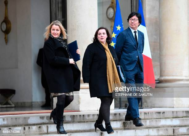 French Junior Minister for Climate and Biodiversity Barbara Pompili French Housing Minister Emmanuelle Cosse French Junior Minister for State Reform...