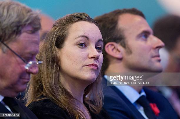 French Junior Minister for Digital Economy Axelle Lemaire attends the inauguration of the 'Cite de l'Objet Connecte' in SaintSylvaind'Anjoy near...