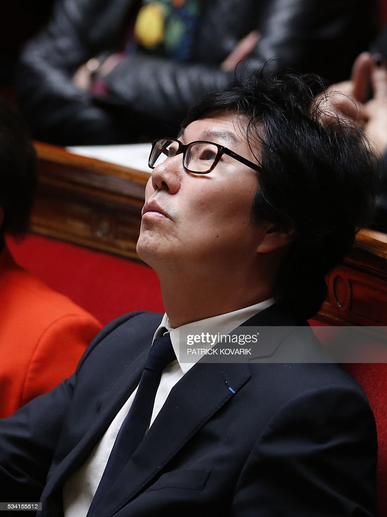French Junior Minister for State reform and Simplification Jean-Vincent Place attends a session of Questions to the Government, on May 25, 2016 at the National Assembly in Paris.