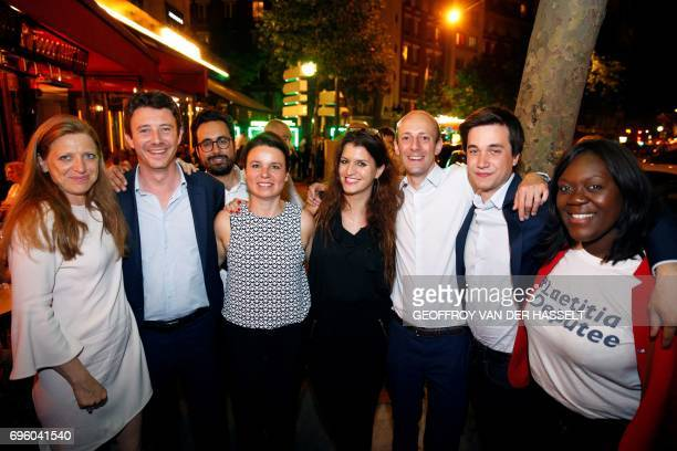 French 'La Republique En Marche' party candidate in the 4th constituency of Paris Ilana Cicurel LREM spokesperson and candidate in the 5th...