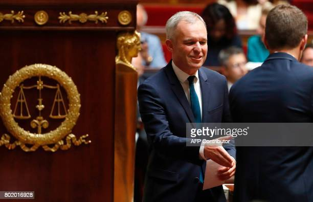 French La Republique en Marche party's Member of Parliament Francois de Rugy attends the inaugural session of the 15th legislature of the French...
