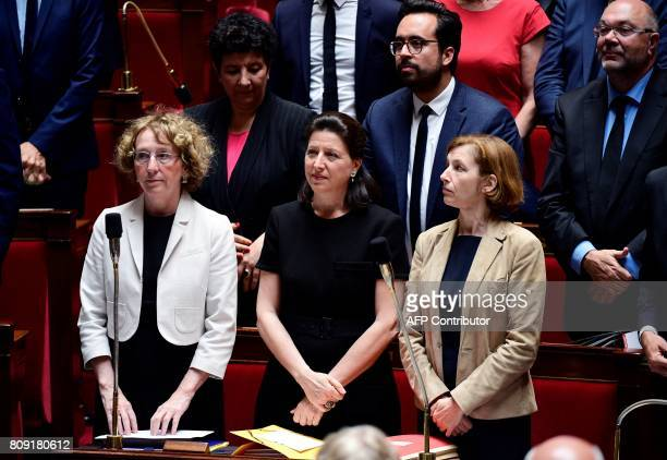 French Labour Minister Muriel Penicaud French Minister for Solidarity and Health Agnes Buzyn French Defence Minister Florence Parly French Minister...