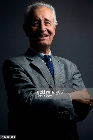 French lawyer jeanyves le borgne poses at his office in paris on
