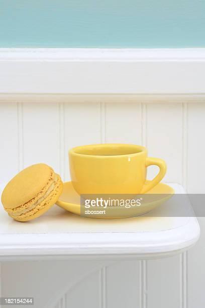 Français citron macarons
