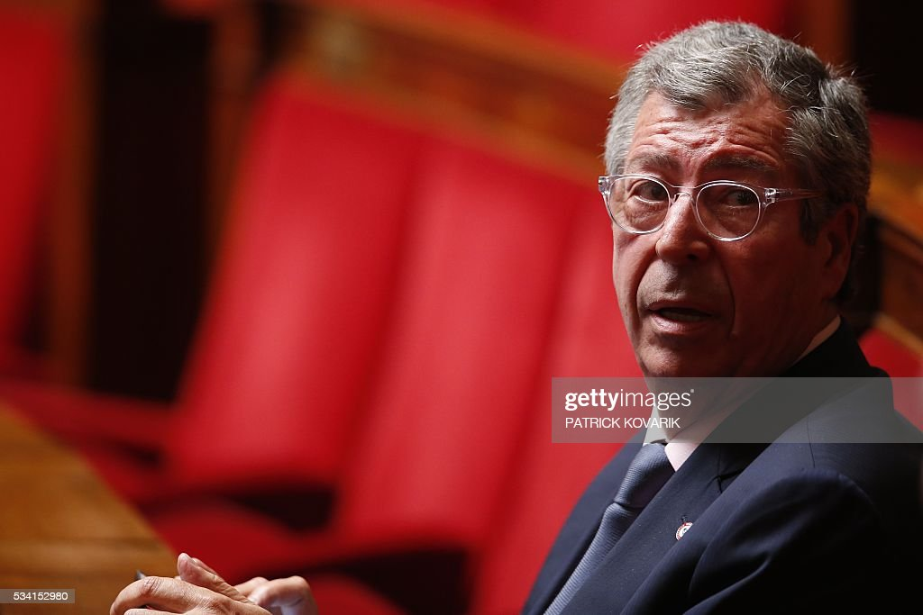French Les Republicains MP Patrick Balkany attends a session of Questions to the Government, on May 25, 2016 at the National Assembly in Paris.
