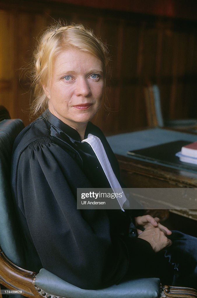 French magistrate <a gi-track='captionPersonalityLinkClicked' href=/galleries/search?phrase=Eva+Joly&family=editorial&specificpeople=2884273 ng-click='$event.stopPropagation()'>Eva Joly</a> poses in her office on September 9,1981 in Sens,France.