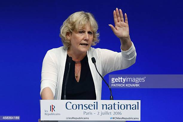French member of the European parliament and candidate for the rightwing primaries of 'Les Republicains' party ahead of the 2017 French presidential...
