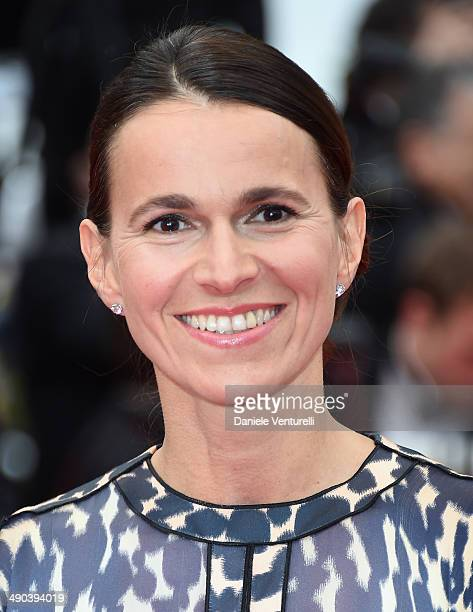 French minister Aurelie Filippetti attends the Opening Ceremony and the 'Grace of Monaco' premiere during the 67th Annual Cannes Film Festival on May...
