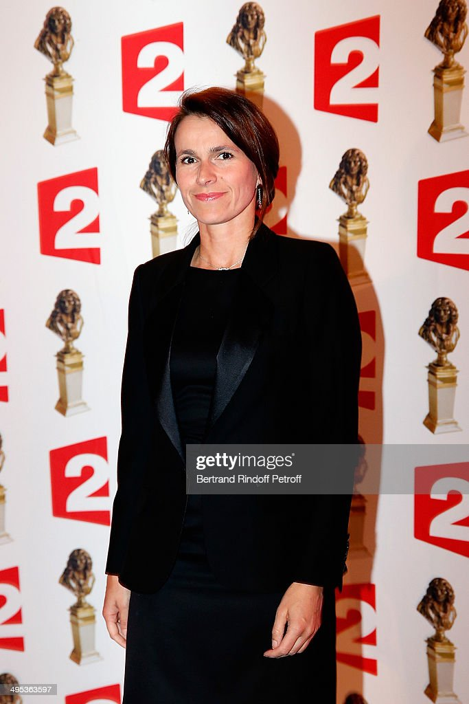 French Minister for Culture Aurelie Filippetti attends the 26th Molieres Awards Ceremony at Folies Bergere on June 2, 2014 in Paris, France.