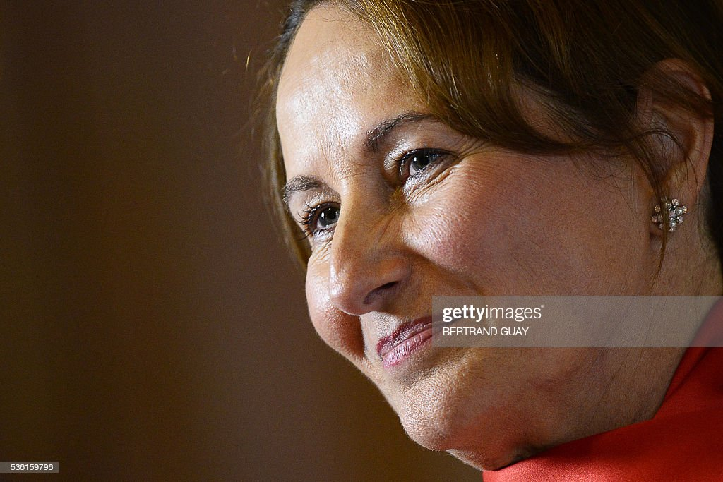 French Minister for Family, Children and Women's Rights Laurence Rossignol attends a session of questions to the Government at the French National Assembly in Paris, on May 31, 2016.