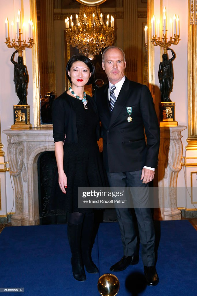 French minister of Culture and Communication <a gi-track='captionPersonalityLinkClicked' href=/galleries/search?phrase=Fleur+Pellerin&family=editorial&specificpeople=8784076 ng-click='$event.stopPropagation()'>Fleur Pellerin</a> a,d <a gi-track='captionPersonalityLinkClicked' href=/galleries/search?phrase=Michael+Keaton&family=editorial&specificpeople=206869 ng-click='$event.stopPropagation()'>Michael Keaton</a> attend Actor <a gi-track='captionPersonalityLinkClicked' href=/galleries/search?phrase=Michael+Keaton&family=editorial&specificpeople=206869 ng-click='$event.stopPropagation()'>Michael Keaton</a> received the medal of Officer of the Order of Arts and Letters at Ministere de la Culture on January 18, 2016 in Paris, France.