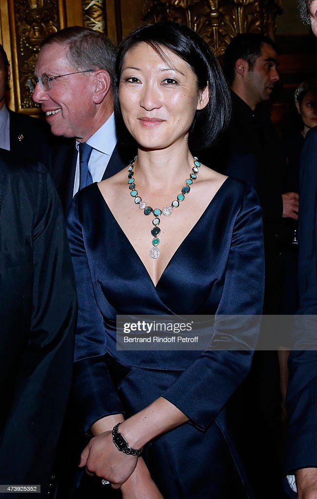 French minister of Culture and Communication <a gi-track='captionPersonalityLinkClicked' href=/galleries/search?phrase=Fleur+Pellerin&family=editorial&specificpeople=8784076 ng-click='$event.stopPropagation()'>Fleur Pellerin</a> attends Star Dancer Aurelie Dupont says goodbye to the Paris Opera performing in 'L'histoire de Manon' at Opera Garnier on May 18, 2015 in Paris, France.