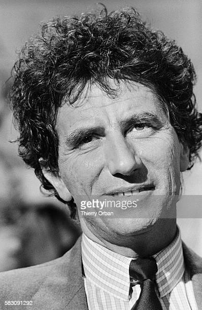 French Minister of Culture and Communications Jack Lang on La Chance aux Chansons television show The French presenter of La Chance aux Chansons...